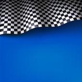 Checkered flag — Stock Vector