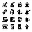 Coffee Icons — Stock Vector #19856373