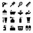 Stock Vector: Personal Care Icons