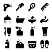 Personal Care Icons — Stock Vector