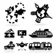 Travel Icons — Stock Vector #20537083