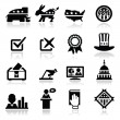 Royalty-Free Stock Vector Image: Election Icons Set