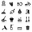 Icons set Cleaning — Stock Vector #22896260