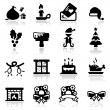 Christmas Icons Set Two — Stock Vector #22896264