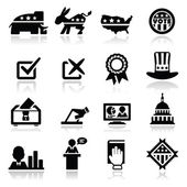 Election Icons Set — Vettoriale Stock