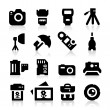 Royalty-Free Stock Vector Image: Photography Icons