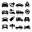 Auto business icons — Vector de stock #24155709