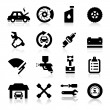 Stock Vector: Auto repair Icons