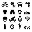 Biking icon — Stock Vector #24155789