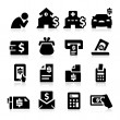 Stock Vector: Bills Icons