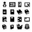 Stock Vector: Book icons