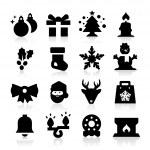 Christmas icon — Stock Vector #24156615