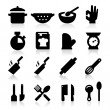 Stock Vector: Cooking icons