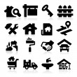 Real Estate Icons — Stock Vector #24156827