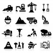 Vector de stock : Construction Icons