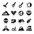 Geology icon — Stockvector #24156947
