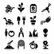 Tuinieren pictogram — Stockvector  #24157149