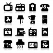 Stock Vector: Home Appliances Icons