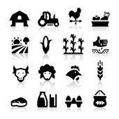Farm icon — Stock Vector