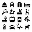 Royalty-Free Stock Vector Image: Hotel   Icons