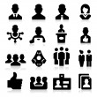 Manager Icons — Stock Vector