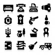 Vintage Icons — Stock Vector #24539847