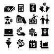 Tax Icons — Vector de stock #24539929
