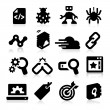 Stock Vector: SEO Icons