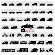 Car Icon Set — Stockvector #26874057
