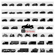 Car Icon Set — Stock Vector #26874057