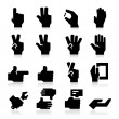 Hands Icons Two — Stock Vector #27551877