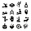 Therapy Icons — Stock Vector #32870439