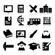 Education Icons two — Stock Vector