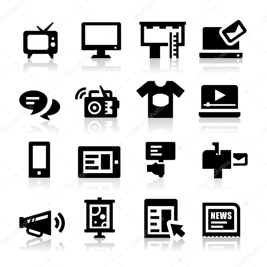 广告图标 — 图库矢量图像08