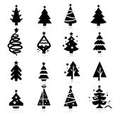 Christmas tree — Stockvektor