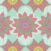 Mandala ornate pattern background — Stock Vector