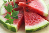 Ripe watermelon — Stockfoto