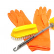 图库照片: Set of cleaning products,Cletool