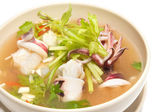 Steamed Squid in Lemon sauce — Stock Photo