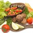 Assortment of fresh vegetables,parsley salad — стоковое фото #24961769