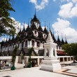 Wat Ratchanaddaram and Loha Prasat Metal Palace in Bangkok ,Thai — Stock Photo