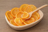 Dehydrated Dried orange — Stock Photo