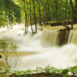 Huay Mae Khamin waterfall, Kanchanaburi Province, Thailand — Stock Photo