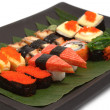 Assorted japanese sushi — Stock Photo #28941207