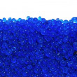 Stock Photo: Blue silicgel moisture adsorbing