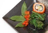 Traditional Japanese sushi — Stock Photo