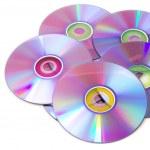 Blank dvd discs — Stock Photo #37312081