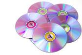 Blank dvd discs — Stock Photo