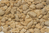 Pumice pebbles ( lightweight volcanic rock ),background — Foto Stock