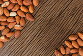 Almond seed background  — Stock Photo